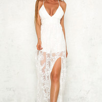 Eaton Hall Maxi Dress White