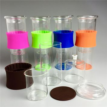 Modern Drip Coffee Glass Beaker