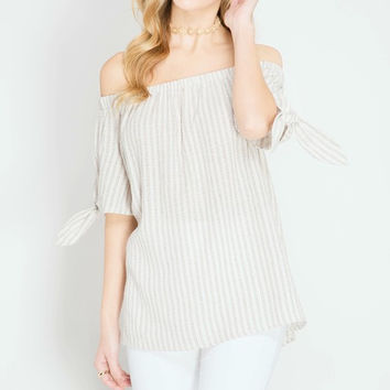 Always Right Off the Shoulder Top