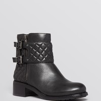 VINCE CAMUTO Booties - Winta Quilted Moto