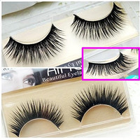 Miss Kiss 5 Pairs LOR-10 Luxurious Eyelashes Thick and Long False Eyelash Full Strip Fake Eye lashes Natural Beauty Fake Glamour Lash Tool Lash Curl for Makeup