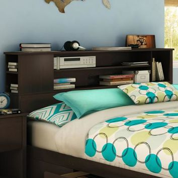 South Shore Vito Full/Queen Storage Bed & Bookcase Headboard, Multiple Finishes - Walmart.com