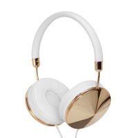 Frends Yellow Gold Taylor Headphones - ShopBAZAAR