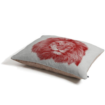 Eric Fan Red Leo Pet Bed