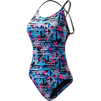 TYR Womens Pattern Adjustable One-Piece Swimsuit