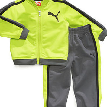 Puma Baby Set, Baby Boys 2-Piece Striped Tricot Jacket and Pants - Kids Baby Boy (0-24 months) - Macy's