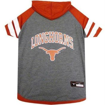 CREYON Texas Longhorns Pet Hoodie T-Shirt