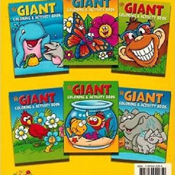 Giant Coloring & Activity Book, Cover may Vary [Jan 01, 2005]