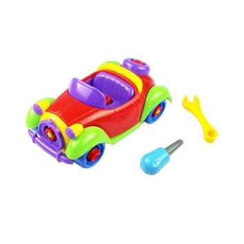 LMFYN5 Boys Gift Kids Baby Child Boy Disassembly Assembly Classic car Toy Disassembly Assembly Car Model toys for children