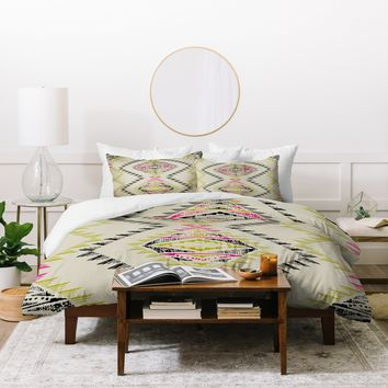 Pattern State Marker South Duvet Cover