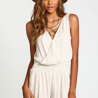 Wrap Woven Romper - LoveCulture