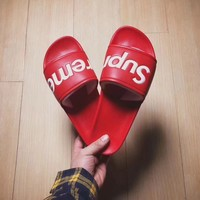 Supreme suprize design Street Trendy Beach Slippers