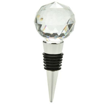 Diamond Crystal Wine Stopper