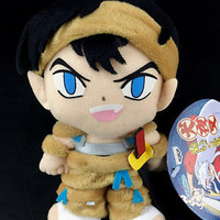 Inuyasha Koga Plush Doll official Banpresto 2002 Episode Rival