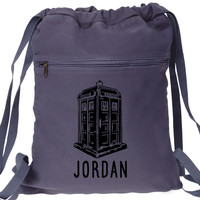 Custom Personalized Doctor Who Backpack