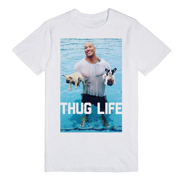 Thug Life Puppy Rescue (Dwayne The Rock Johnson of WWE)