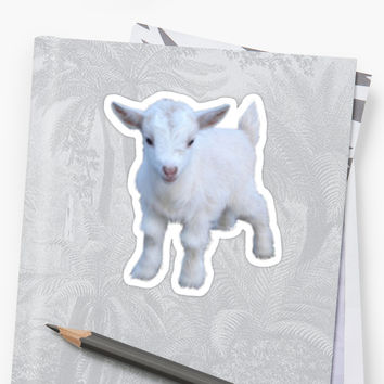 'Goat Sticker' Sticker by lunarfawn