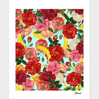 «Tropical Forest», Numbered Edition Fine Art Print by Uma Gokhale - From $20 - Curioos