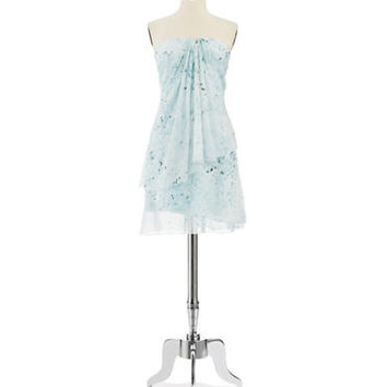 Pamella Pamella Roland Pattered Shift Dress
