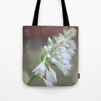 Foxglove Penstemon Tote Bag by Theresa Campbell D'August Art