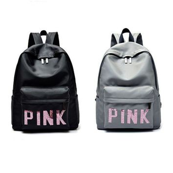 Day-First™ PINK Victoria's Secret Fashion Sport School Bag Satchel Travel Bag Backpack