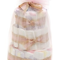 Infant The Honest Company Mini Diaper Cake