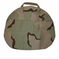 Vintage Army Desert Camouflage Canvas Bag