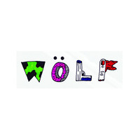 WOLF SKETCH STICKER – Odd Future