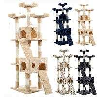 "66"" Cat Tree Tower Condo Furniture Set🐾"