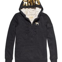 Faux-fur Wear Everywhere Zip Hoodie