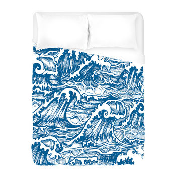 The Perfect Storm Duvet Cover