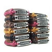 Believe Inspiration Power and Hope Bracelet