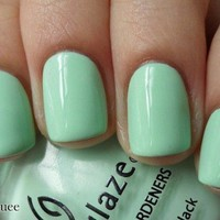 Mint Blue Nail Art Polish [648]