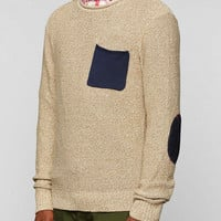 CPO Contrast Pocket Sweater  - Urban Outfitters