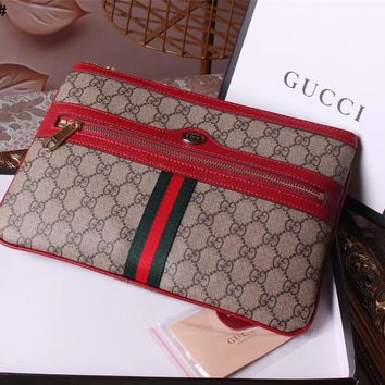 GUCCI WOMEN'S 2018 HOT STYLE LEATHER OPHIDIA HAND BAG