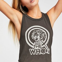 The Who Muscle Tank
