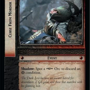 Lord of the Rings TCG - Curse From Mordor - Fellowship of the Ring