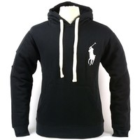 Polo Ralph Lauren Mens Big Pony Hoodie Drawstring Pullover Hooded Sweatshirt New