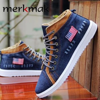 Fashion Breathable High-top Shoes