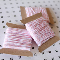 Bakers Twine - Light Pink - BLOSSOM  - 15 Yards