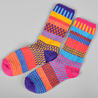 solmate socks - carnation recycled cotton socks
