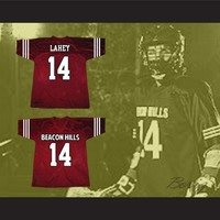 Isaac Lahey 14 Beacon Hills Lacrosse Jersey Teen Wolf TV Series New