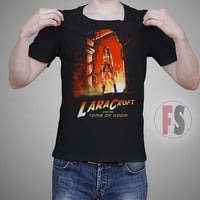 Lara Croft Tomb of Doom AllukaArtTees Unisex Adult Tees