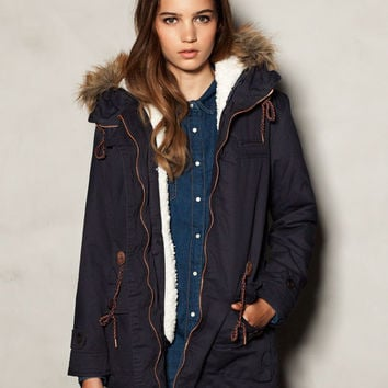 FUR LINED PARKA - COATS - WOMAN -  France