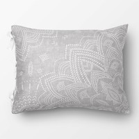 Grey Chloe Medallion Duvet Cover and Sham Set