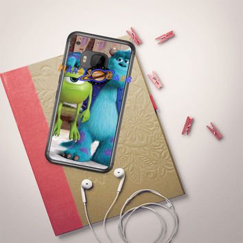 Monsters Inc sulley holding mike HTC One M9 Case Planetscase.com