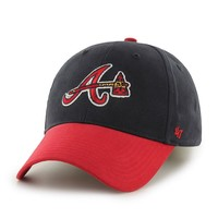 '47 Brand Atlanta Braves Short Stack Adjustable Cap - Youth, Size: One Size (Team)