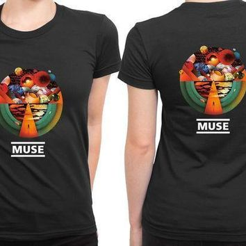 Muse Exogenesis Fan Art 2 Sided Womens T Shirt