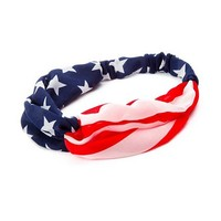Stars and Stripes Headwrap | Claire's