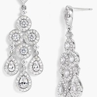 Women's Nadri Framed Chandelier Earrings